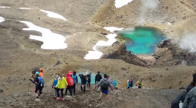 Tongariro Crossing with kids