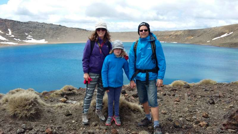 Blue Lake, Tongariro Crossing