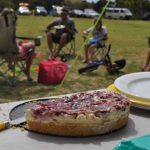 Cheesecake and camping