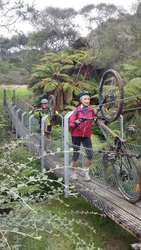 Bridge to Nowhere mountain bike ride