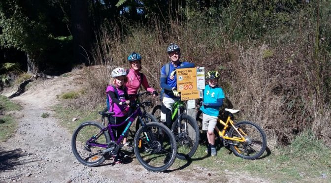 Mountain biking with kids – mud, sweat and tears