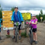 Mountain biking with kids, Redwood Forest, Rotorua