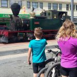 Steam train in Kawakawa