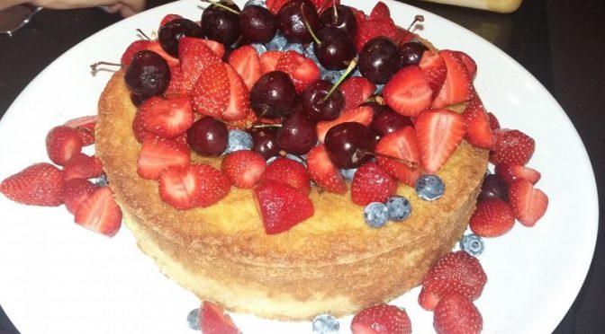 Sour Cream Lemon Cake