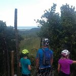 Mountain biking at Waitangi Mountain Bike Park