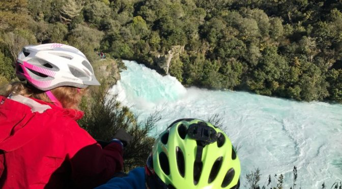 Exploring Taupo – by bike of course