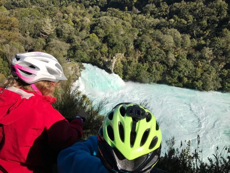 Great Lake trail cycle - Huka Falls to Aratiatia Dam
