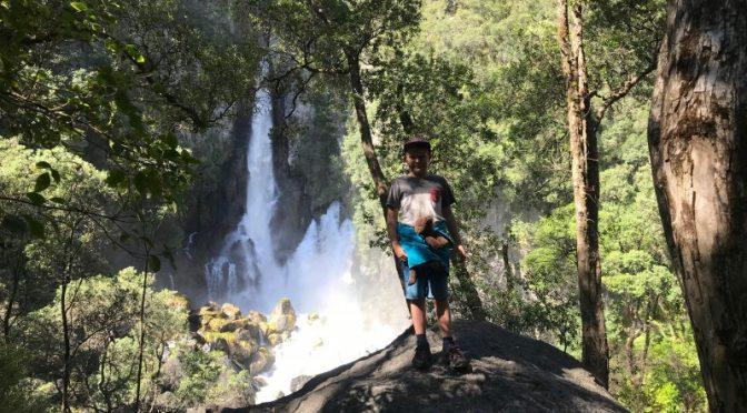 Tarawera Waterfall walking track